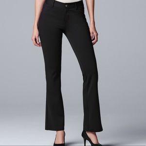 Plus Size SIMPLY VERA WANG Ponte Bootcut Pants